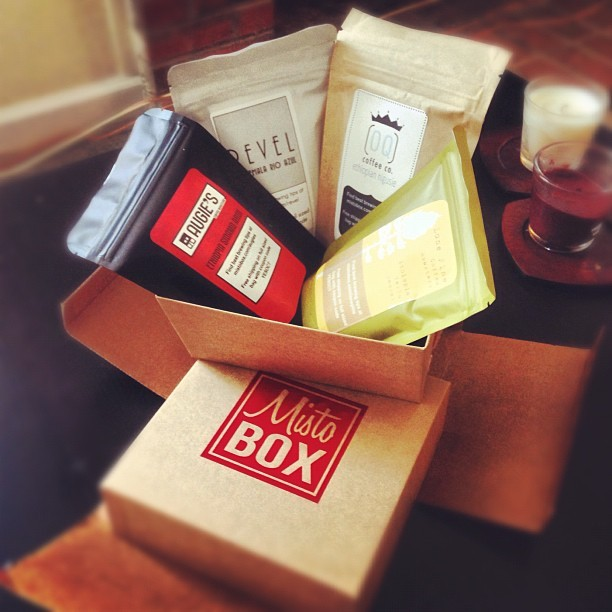(f)unboxing my first @mistobox  (Taken with Instagram)