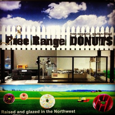 #dream #breakfast of #champions #organic #freerange #donuts #oregon #pdx #northwest  (Taken with Instagram at Oregon Love)