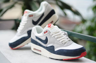 Nike Air Max 1 OG Vintage Dark Obsidian/Neutral Grey Summer 2013