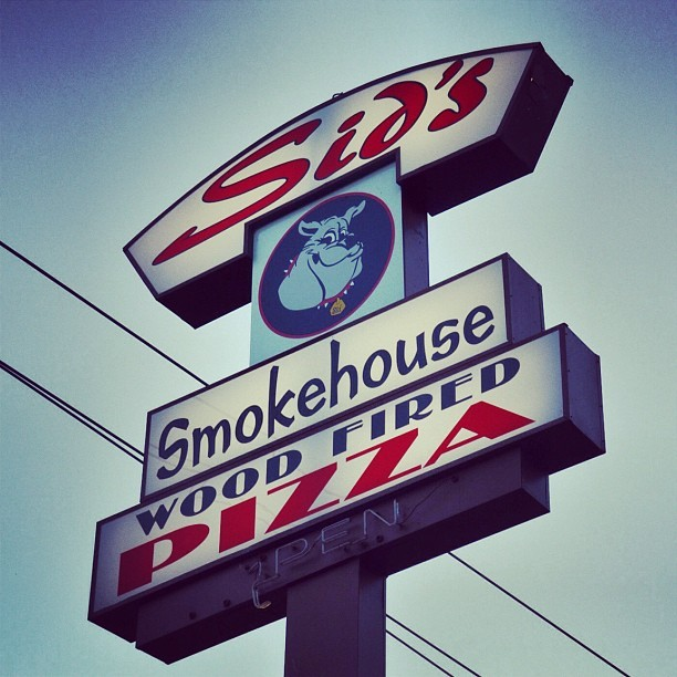 Sid's Grill in Aptos. Their sign has a cool look to it. (Taken with Instagram)