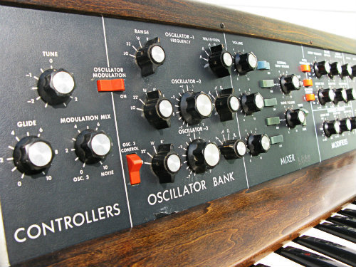Moog Minimoog Model D - In production (1970-81)