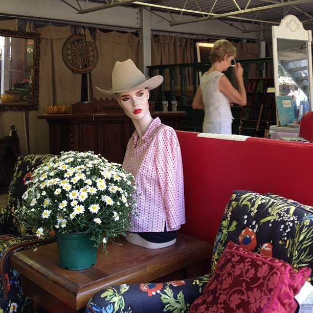 Just chillin in this floral setting in Round Top, TX #roundtop #texas  (Taken with Instagram)