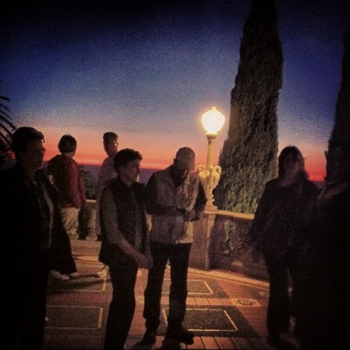 Another enchanted evening (Taken with Instagram at Hearst Castle Neptune Pool)