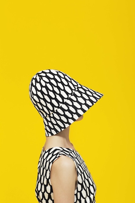 fashiondailymag:  MARIMEKKO patterned hat spring 2013