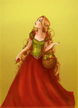 kixxarse:  Picking apples by ~Arbetta