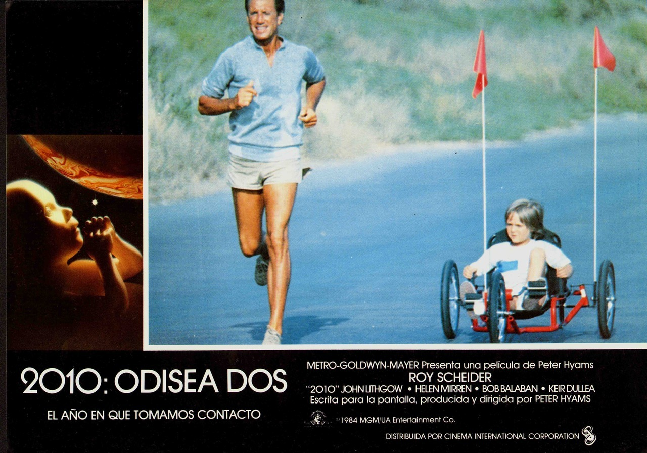 2010, Spanish lobby card. 1984 Submitted by Ricardo