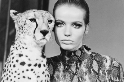 Veruschka for VOGUE