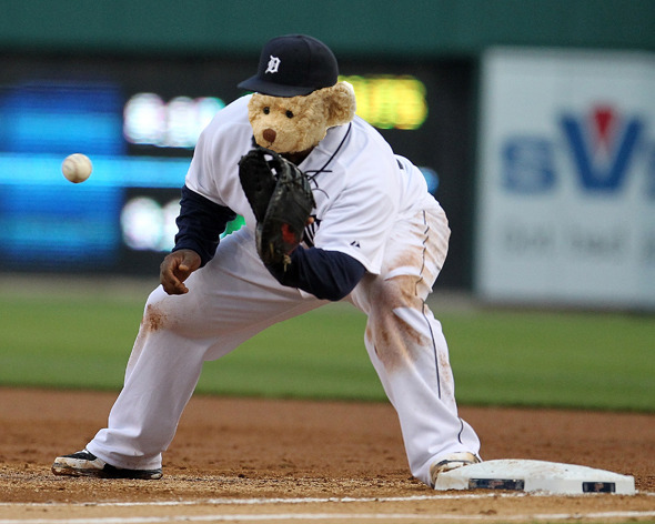 Tigers first baseman Prince Fielder really is adorable.