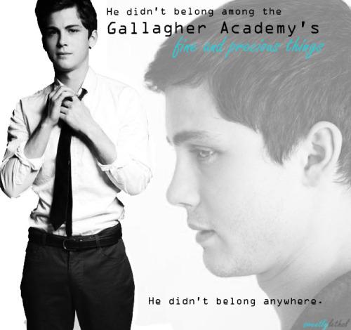 Pin Quotes Gallagher Girls Logan Lerman Zach Goode Cammie