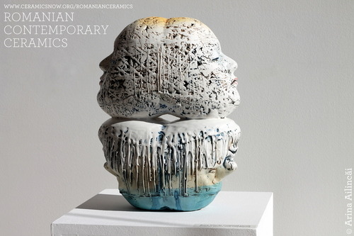 Romanian contemporary ceramics - Ceramics Now special feature, Arina Ailincai