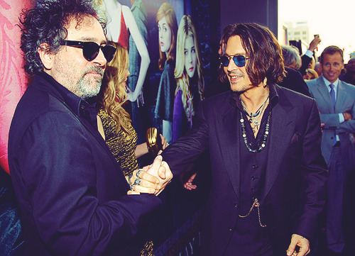 Tim Burton & Johnny Depp.
