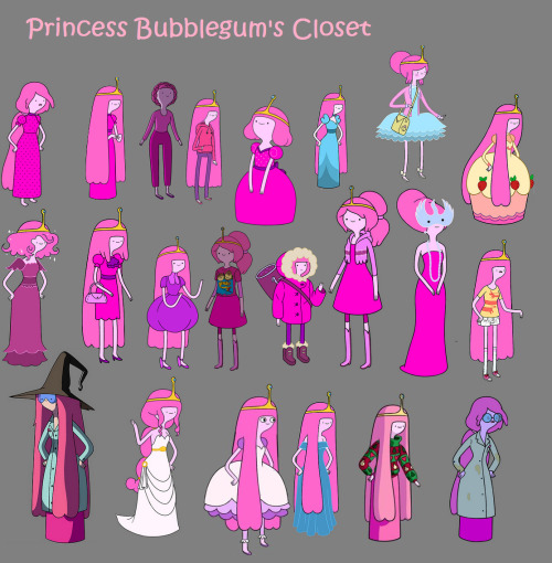 the-adventure-time-blog:  Princess Bubblegum has style, yo.