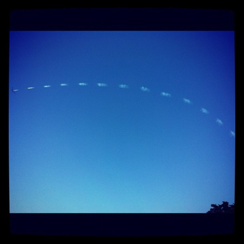 #hardlystrictly #blueangels #skywriting #weeeee! (Tomada con Instagram)