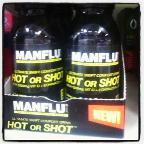 Manflu! #manflu #flu #man #cough #sneeze #medicine #igersdaily #igers #instasick #sick #funny (Taken with Instagram at Castle Greyskull)
