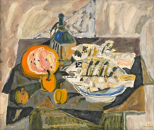 stilllifequickheart:  Jan Szancenbach Still Life 1964