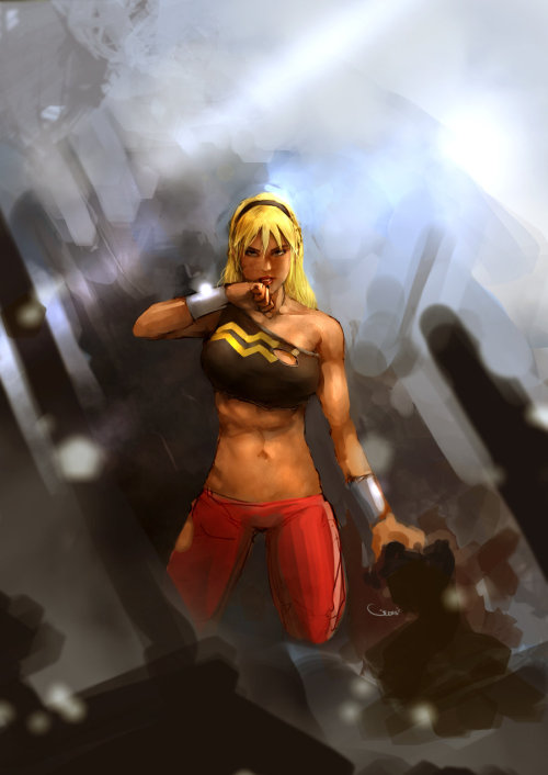 Wondergirl  Art by DarrenGeers DC Fan Arts #20
