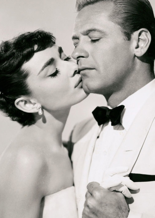 factoseintolerant:  Audrey Hepburn & William Holden in Sabrina