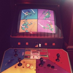 Need this back from my forgotten youth… #turtlepower #80sarcade  (Taken with Instagram)