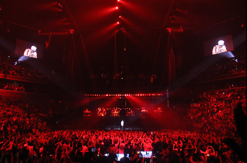 Jay-Z performs at his eighth and final show at the Barclays Center.