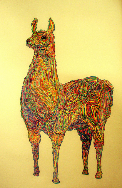 sin título by malditavalentina on Flickr.A través de Flickr: llama on acid