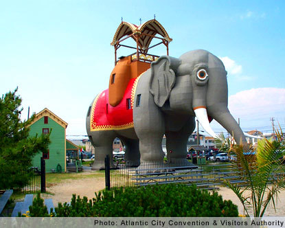 Lucy the Atlantic City, New Jersey Elephant
