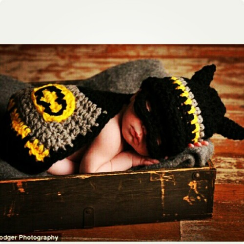 kingofherjungle:  Ay dios mio! The #cuteness is #melting me. #Batman #Batbaby #baby #cute #adorable #gorgeous (Taken with Instagram)