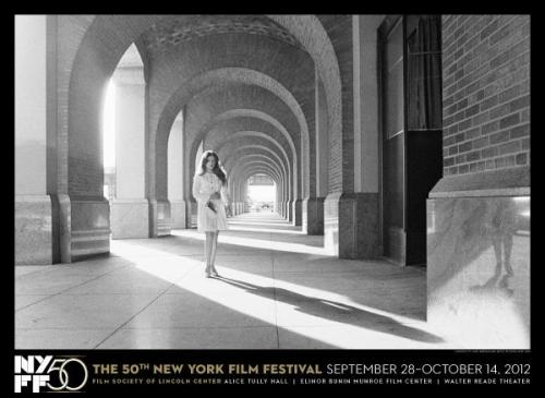 Cindy Sherman's poster for the 50th New York Film Festival—very reminiscent of the Untitled Film Stills. The poster can be purchased here!