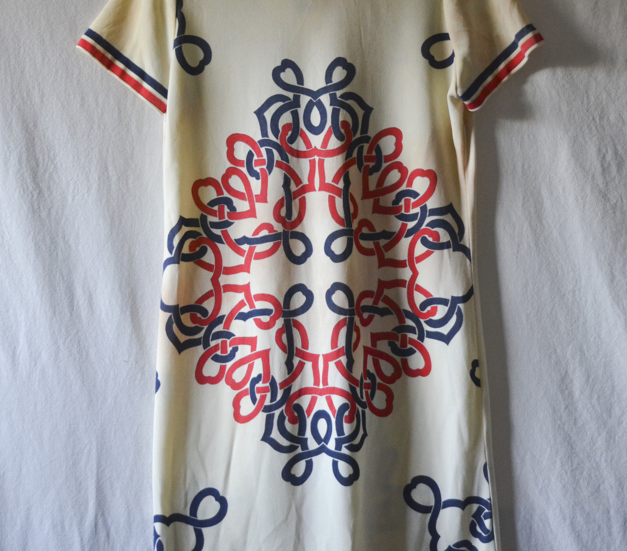 New @ Reunion Rarities: Vintage 1960's Mr. Dino Designer Shirt-Dress RARE