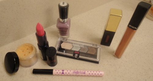 Products I have been liking/What I've purchased recently Ohai PD! Since the semester started, I have put most of my beauty hauls and purchases on hold because uni is expensive, so I've started to 'shop my collection' and spend less than 10 dollars on beauty every two weeks. …surprisingly easier than expected and I've been finishing products left and right. I finally finished another one of my base products so I've started to use the L'Oreal Lumi foundation, which I will be doing a full review on when I've used it for a longer period of time. Speaking of my collection, I've never actually taken pictures of it…hm. Maybe another time. Anyway! Onto my recent likes and things I've purchased (semi)recently. Bobbi Brown Sheer Finish Loose Powder in Golden Orange | $36: I actually got this because the nicest person ever who sold me my Bobbi Brown Tinted Moisturizer gave me one of her unopened testers. Fast forward a year, I opened it and fell in love (why is it the expensive things I fall in love with most of the time really). Up until recently, I set my foundation with the MAC Mineralize Skinfinish Natural and liked it for the most part, but I found that it does start to look cakey and I would get oily regardless. With this loose powder, it does not look cakey, it feels very light on the skin and I get oily around hour 11 instead of three hours after applying my foundation.  Rimmel Lasting Finish Lipstick - Kate Moss Collection in 06 | $4.99-$7.99: I know I said that I do not need any lip products for a very long time, but I met the nicest couponers when I was in CVS one night and we bonded over the fact that American BB Creams are horrible and they gave me coupons so I got it for $1.99. Could not resist and I am so happy that I caved in to the pretty lipstick - this is one of my favorite drugstore lipsticks that I own. Completely opaque coverage with a great color for fall and decent lasting power - with minor drinking, it lasted for four and a half hours. It's actually the lipstick I wore in this post and I feel especially awesome when wearing it. I think Rimmel lipsticks get overlooked when it comes to their formula, and I completely recommend this lipstick. YSL Rouge Pur Couture Vernis à Lèvres Glossy Stain in No. 11 Rouge Gouache | $32: Continuing with the lip products, I actually did a full review on this product previously here. Pretty much I may have forgotten I owned this product, used it again recently and remembered why I adored this product. Wore it at work the other day and had five people complement me on my lips. Great fall red yes/yes? Wet n Wild MegaLast Salon Nail Color in Bite the Bullet (207B) | $1.99: I got this polish for free because CVS had buy one get one free on all of their Wet n Wild products (purchased the Wet n Wild Crème Eyeliner - never tried it). I already own eight of these polishes and these are hands down my favorite drugstore formula, especially for the flat applicator brush. Opaque in two coats, and with a top coat, lasts on my nails for six days. And it's cheap! Koji Dolly Wink Liquid Eyeliner in Deep Black | $12-$17: This is my favorite black liquid eyeliner, and this semester has reminded me of that again because it's easy to apply when half-asleep and running late for class. Just enough control to do a quick flick or cat eye but not too fine of an applicator that makes building a thick line tedious. I did a full review of this product previously here. Maybelline Eye Studio Color Plush Silk Eyeshadow in Olive Martini (LE) | $9.99: After seeing one of my favorite YT gurus emilynoel83 rave about this quad, I decided I must own it. After using it a couple times, I'm torn. It swatches absolutely beautifully, but I found that building up the color on my lids to be a tad difficult, which is odd because I own the Give me Gold quad from the same line and those shadows apply beautifully. However, with a little bit of work, the colors look absolutely amazing on the lids and create a great smokey eye. If you can still find it, I recommend purchasing! And that's it! Next up, either a finished products post, mini products on blast post or a collection collage. Toodles~ o/