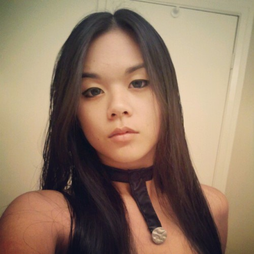 Testing contacts and makeup for my X-23 cosplay :)