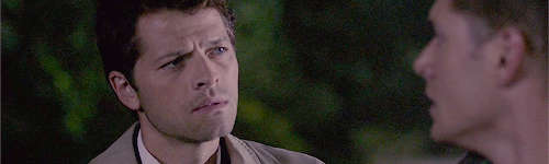 the way Castiel looks at Dean