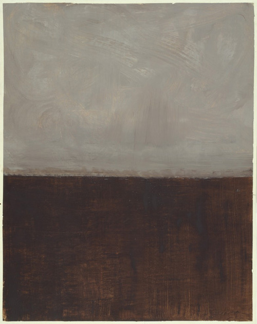 nickelcobalt:  Rothko, Untitled (Brown and Grey), 1969.