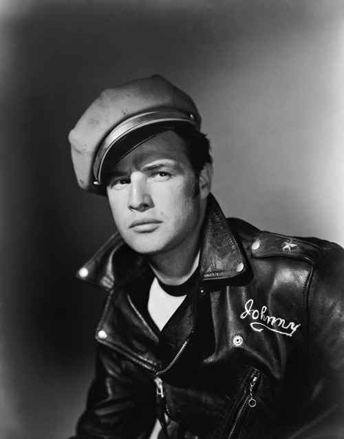 Marlon Brando photoshoot from The Wild One (1953)