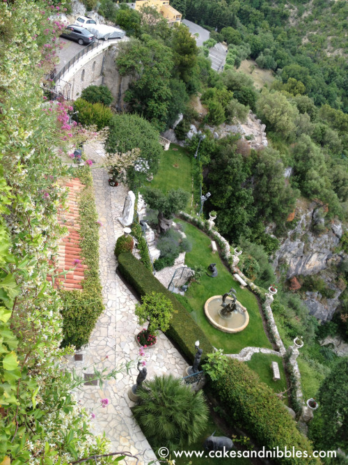 C&N TraveLog:  Eze, France (June 2012)  The fabulous grounds of the Chèvre d'Or hotel.