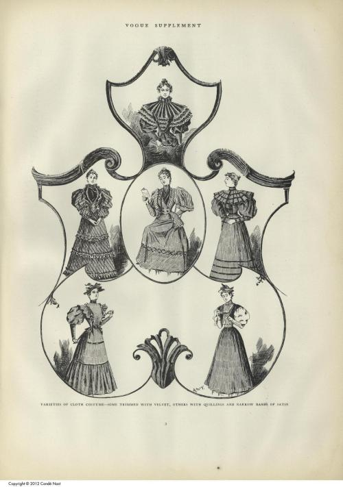 Vogue, October 5th 1893