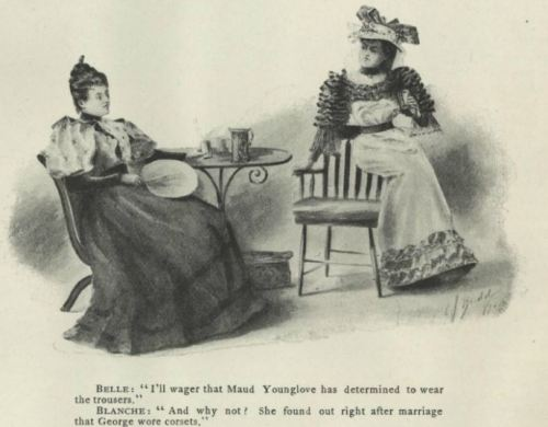 oldrags:  Vogue October 5th 1893. with additional comedy!