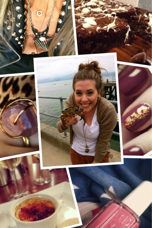 .Instagram Diary #8. Crabbing. Creme Brulee. New Scarves. Dark Nail Polish. Beautiful Jewellery. New Jackets. Gooey Chocolate Brownies. Follow me @xameliax xax