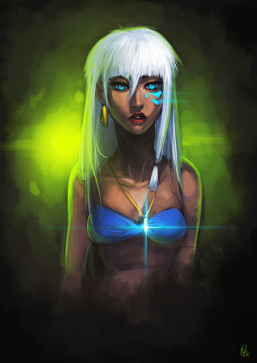 slickbae:  Kida  -Atlantis The Lost Empire