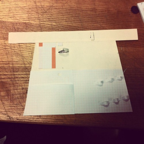 Apron prototype. (Taken with Instagram at Taubman College of Architecture and Urban Planning)