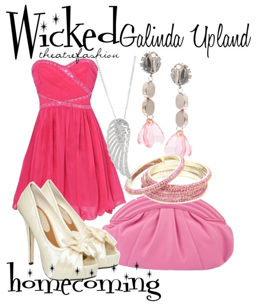 Find your most swankified outfit and wear a Glinda Upland inspired dress to homecoming this year!