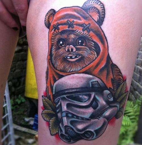 fuckyeahtattoos: By Mr Adam Chandler (Merlins in Dover)