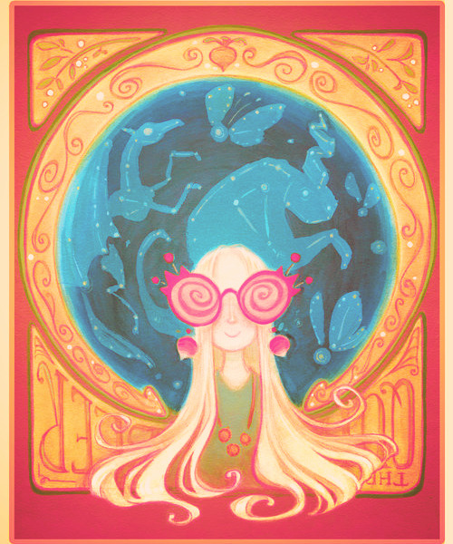 100 favorites fanarts of Harry Potter ✖ Luna Lovegood .