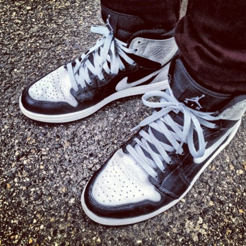 #airjordan #I #grey/black #solematesmelb #igsneakercommunity  (Taken with Instagram)