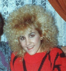 No matter what you do in life, you will never have a poodle perm as bad as this one.