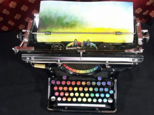 Tyree Callahan, The Chromatic Typewriter [by Tyree Callahan] (via)