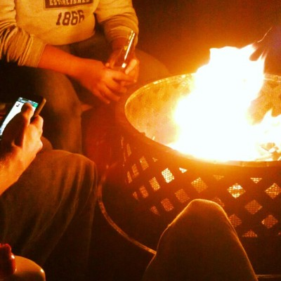 These bonfires on chilly nights (Taken with Instagram)
