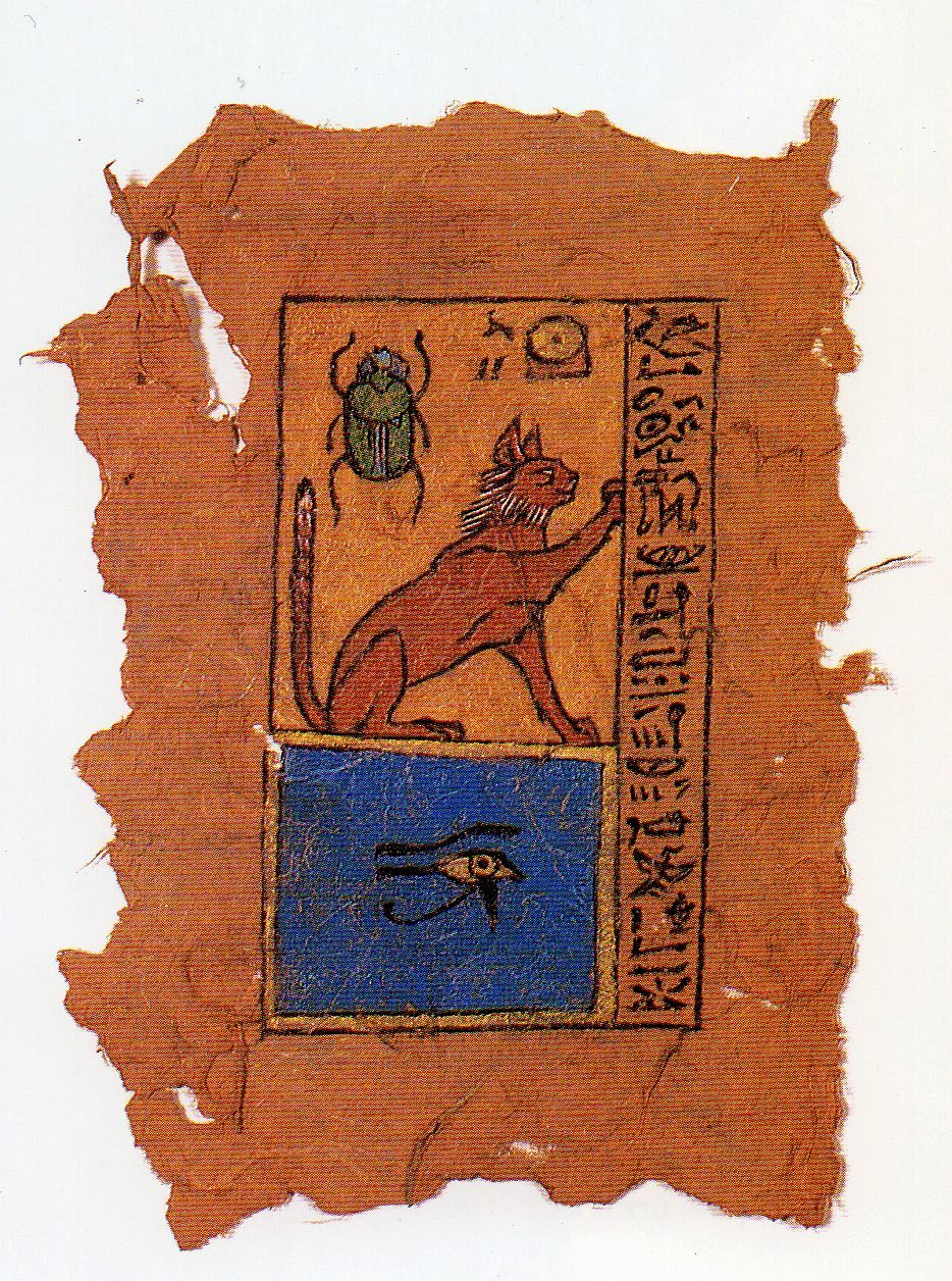 Funerary Papyrus of The Lapis Lazuli Cat, Bodhead Library, Oxford.