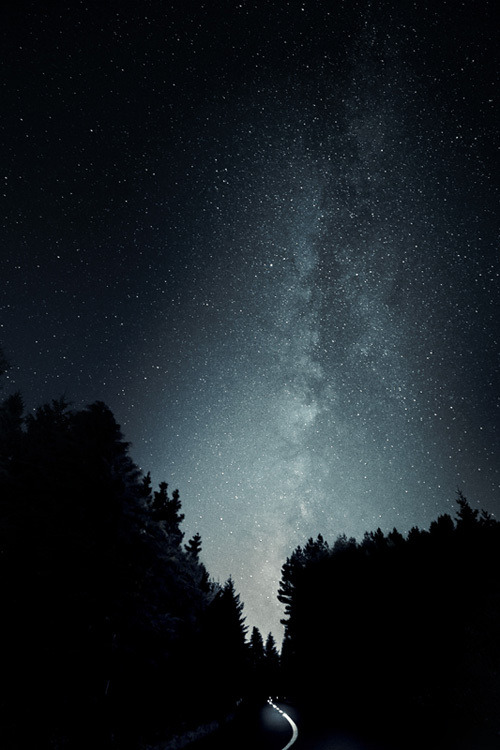samaralex:  Milky Way Path by Nuno Serrao