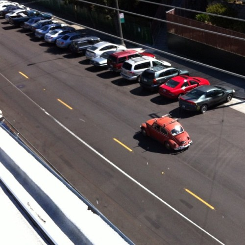 On the other had, I like this one better. #vw #beetle #sf  (Taken with Instagram)