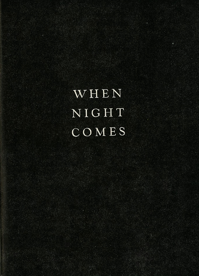 nuuro:  When night comes